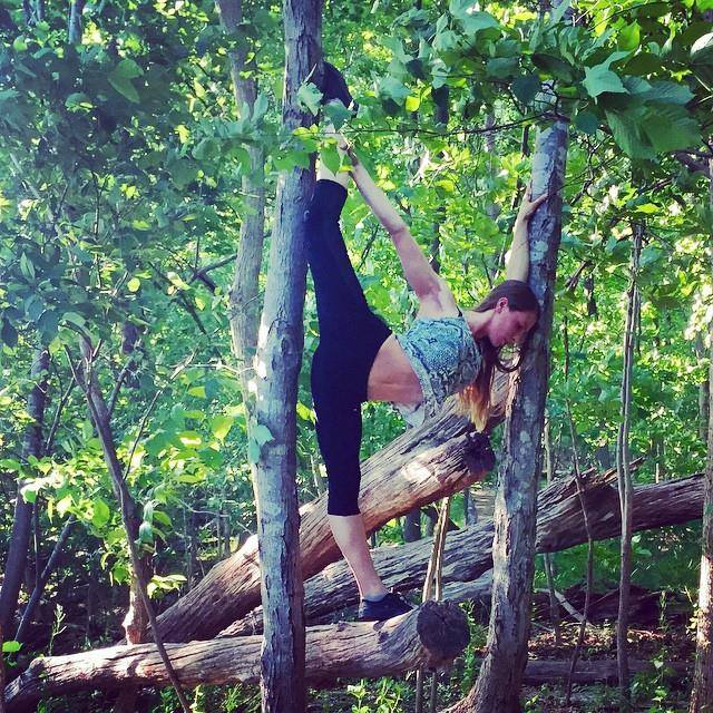 Amanda Nicole Smith - Flexibility On A Tree
