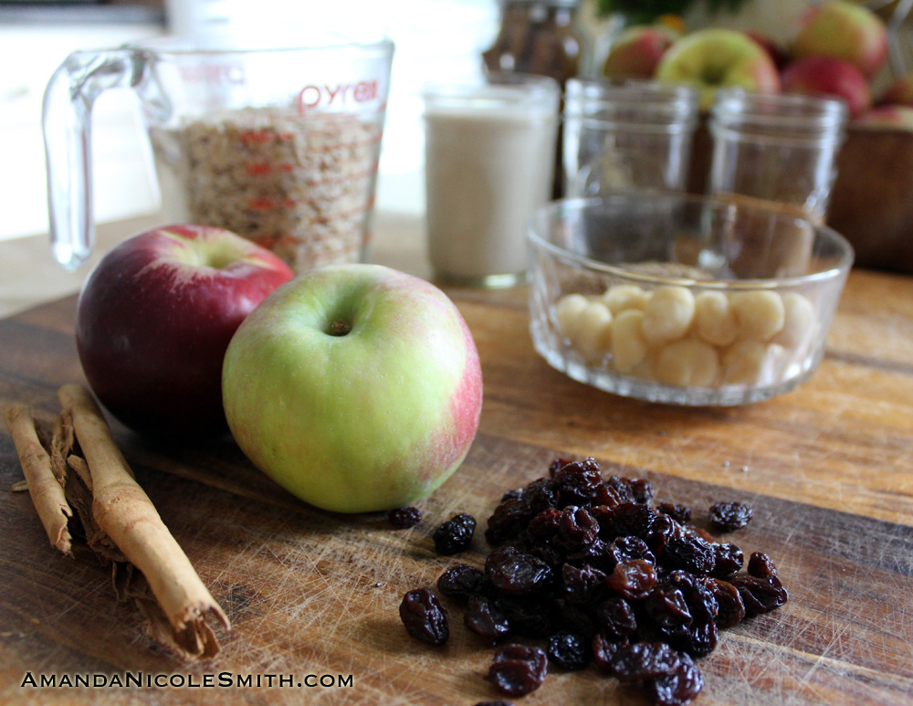 Apple Cinnamon Raisin Bread Ingredients