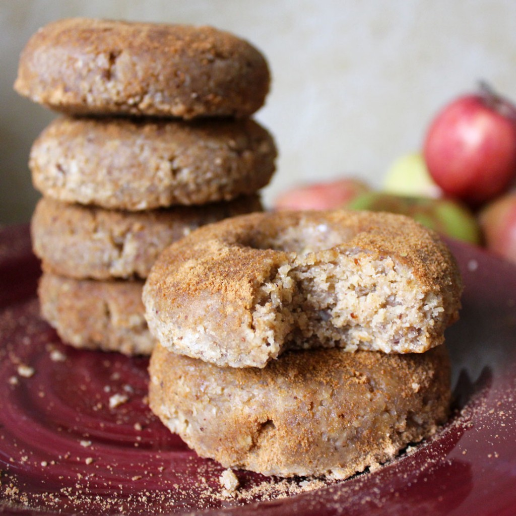 Raw Vegan Apple Cider Doughnuts
