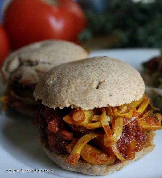 Jackfruit-Sandwich