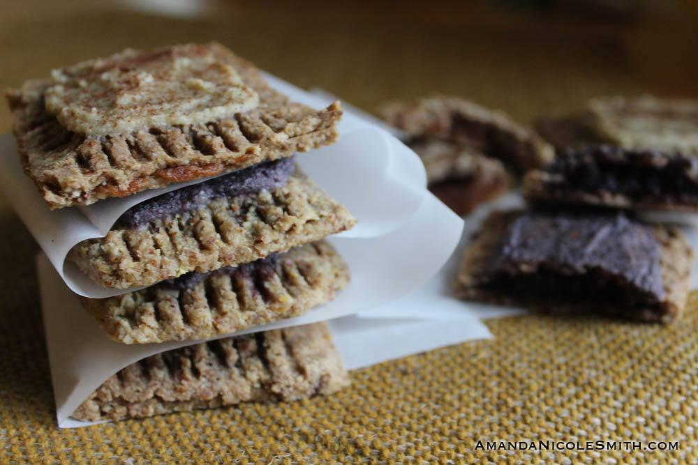 raw vegan toaster pastries