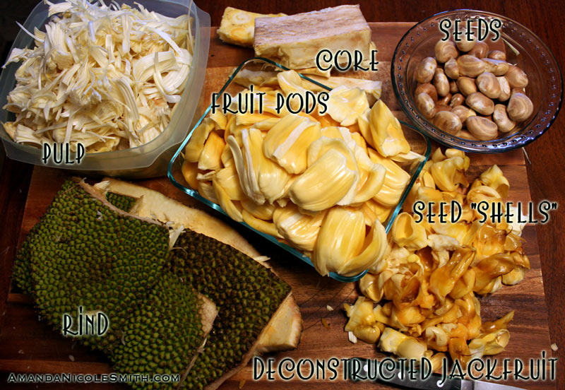 deconstructed jackfruit