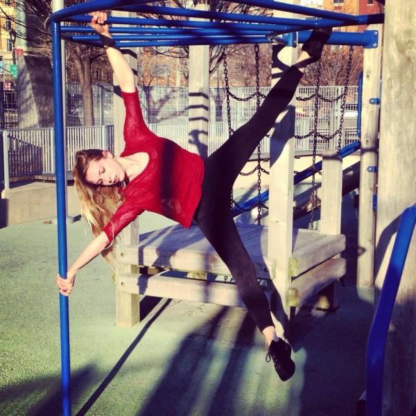 Iron-x on the Hudson River Pier Playground