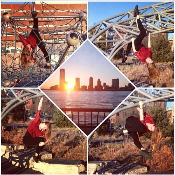 NYC playground Collage