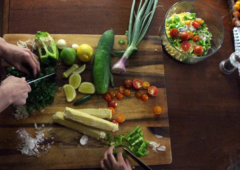 Prepping-summer-corn-salad