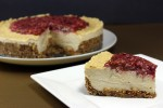 Cultured Cashew Cheesecake | Cinnamon Pecan Crust