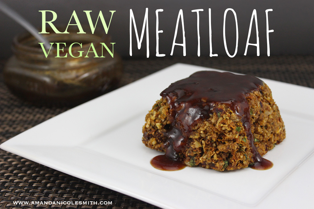 Raw Vegan Meatloaf