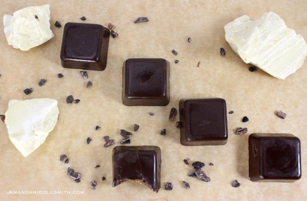 Raw Vegan Caramel Chocolate