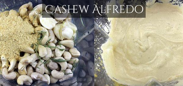 Raw Vegan Cashew Alfredo Sauce