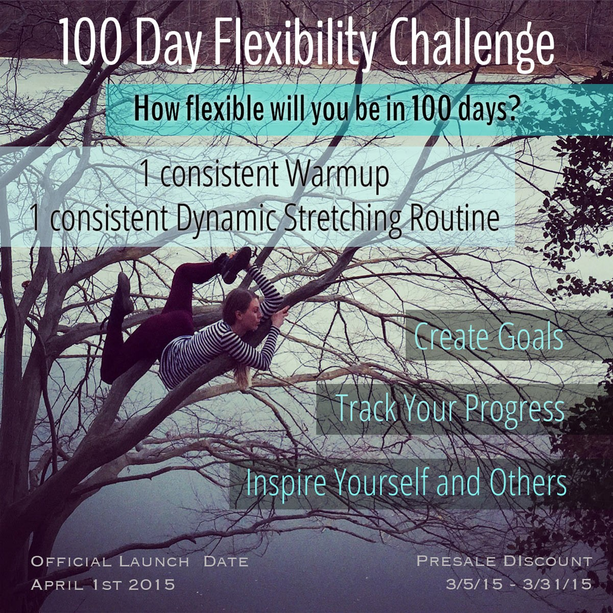100 Day Flexibility Challenge