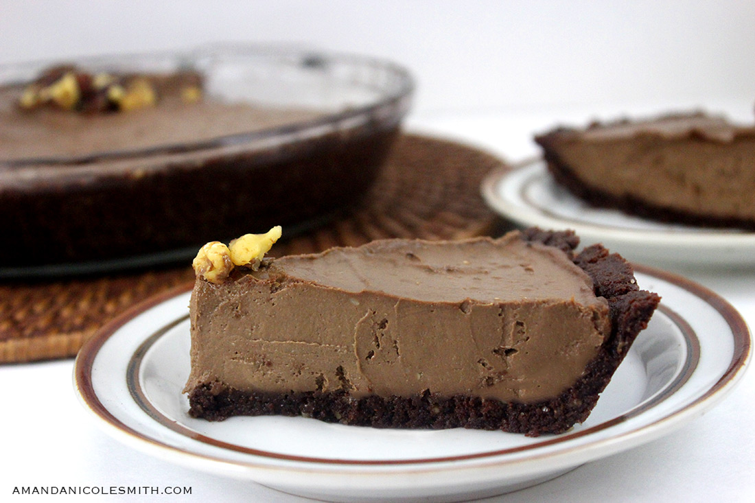 Chocolate Avocado Cream Pie