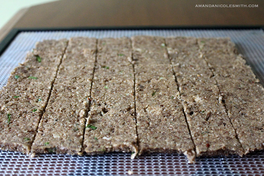 Sunchoke Sesame Cookie Crackers