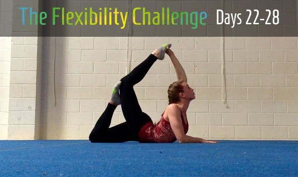 Week 4   100 Day Contortion Flexibility Challenge