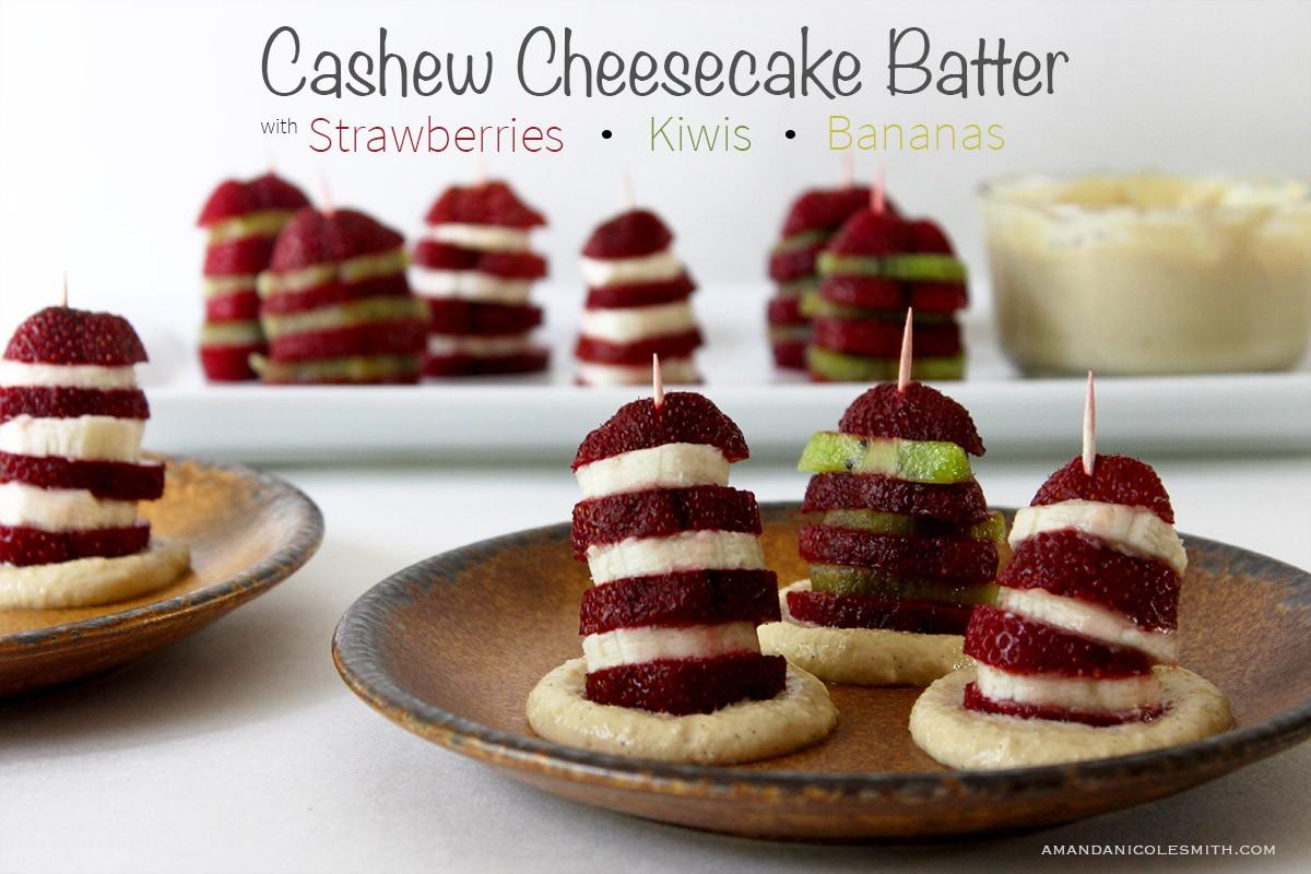 Raw Vegan Cashew Cheesecake Batter