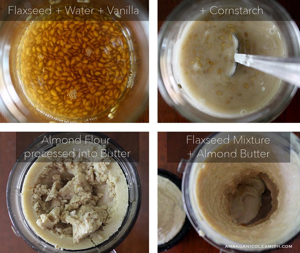 Raw Vegan Pound Cake egg replacement
