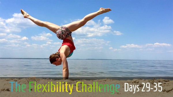 Week 5   100 Day Contortion Flexibility Challenge