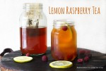 Lemon Raspberry Sweet Tea