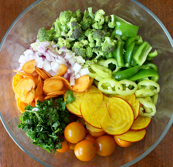 Pasta Salad Veggies