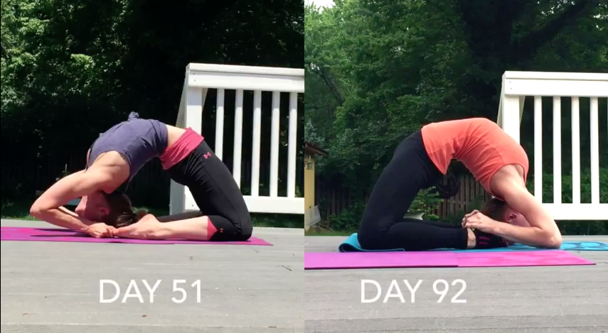 Kapotasana Progress - The Flexibility Challenge