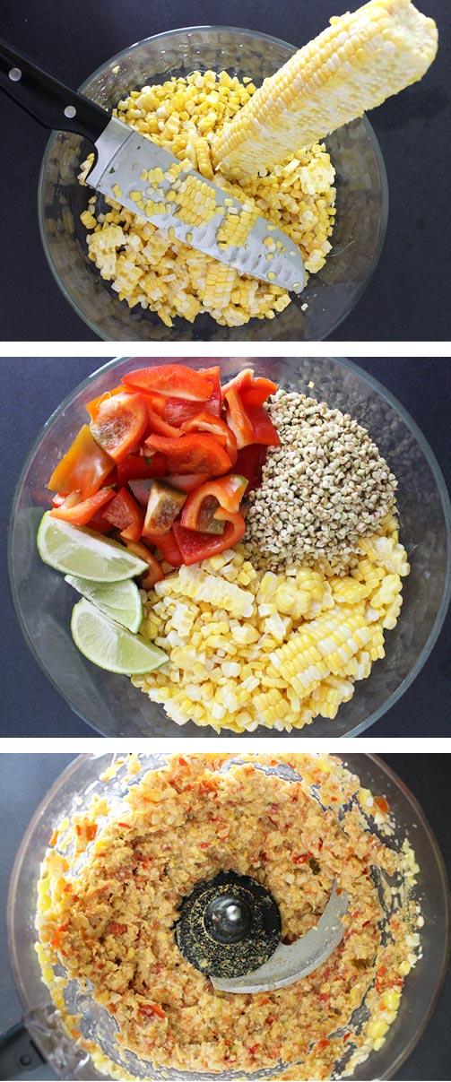 Raw Vegan Homemade Corn Chips