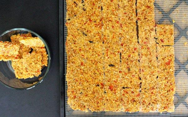 Raw Vegan Corn Chips and Salsa Fresca