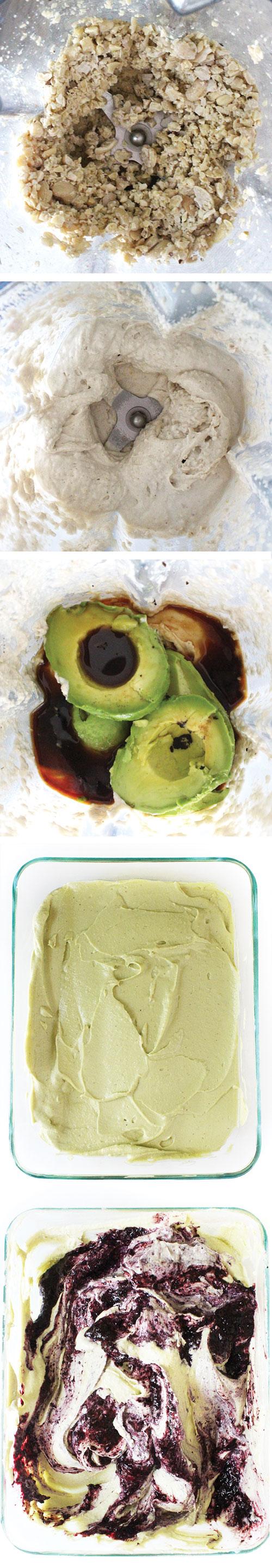 Raw Vegan Ice Cream Instructions