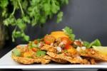 Raw Vegan Nachos with Zucchini Nacho Cheese