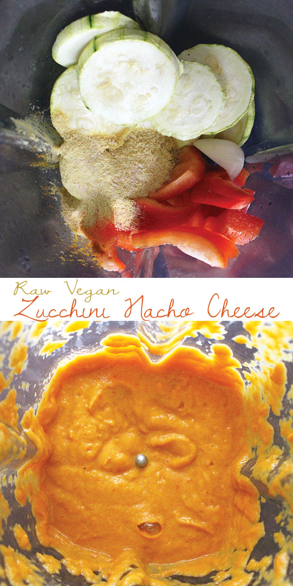 Raw Vegan Nacho Cheese
