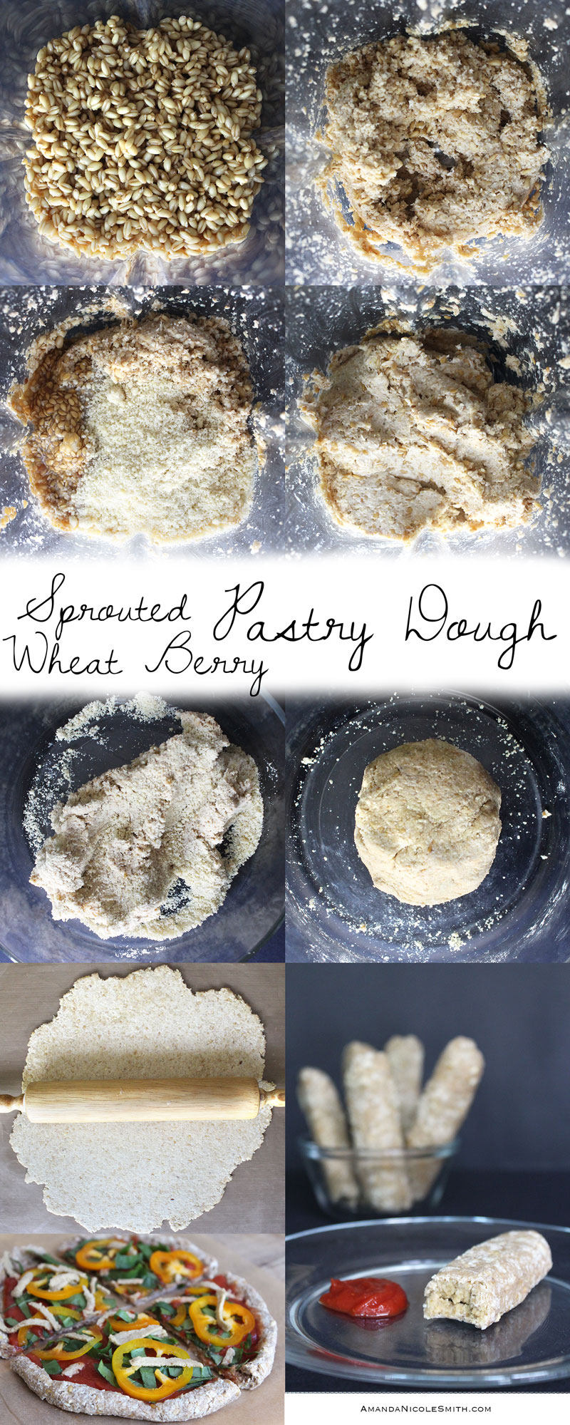 How To Make Sprouted Wheat Berry Pastry Dough