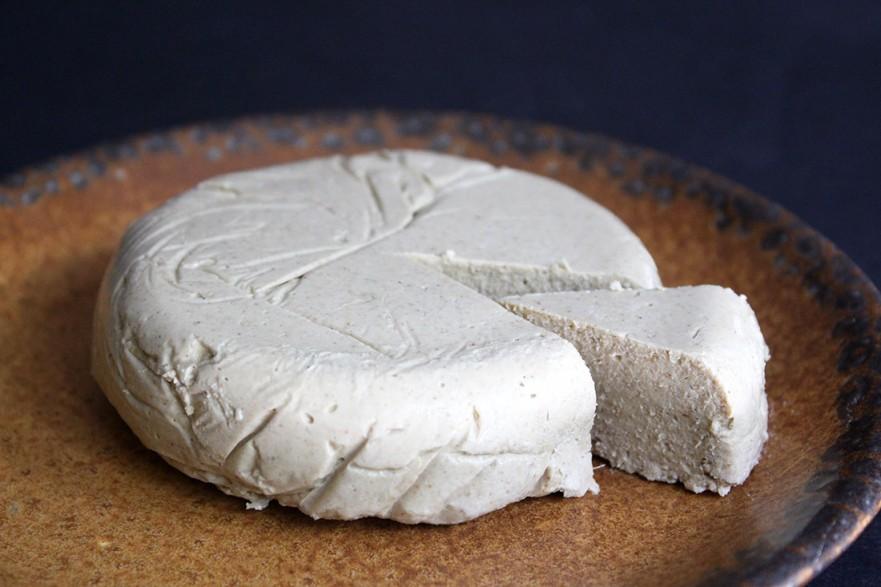 Vegan Sesame Cheese