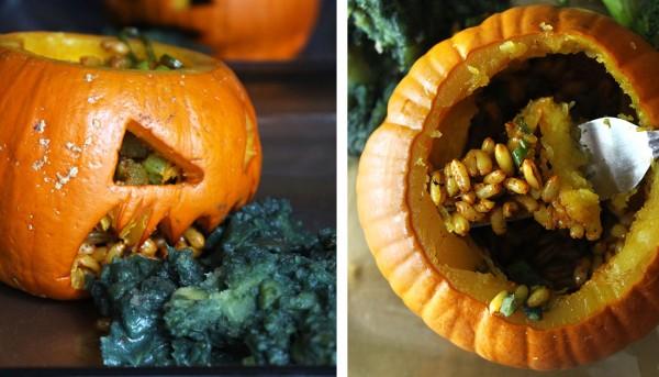 Halloween Pumpkin Dinner