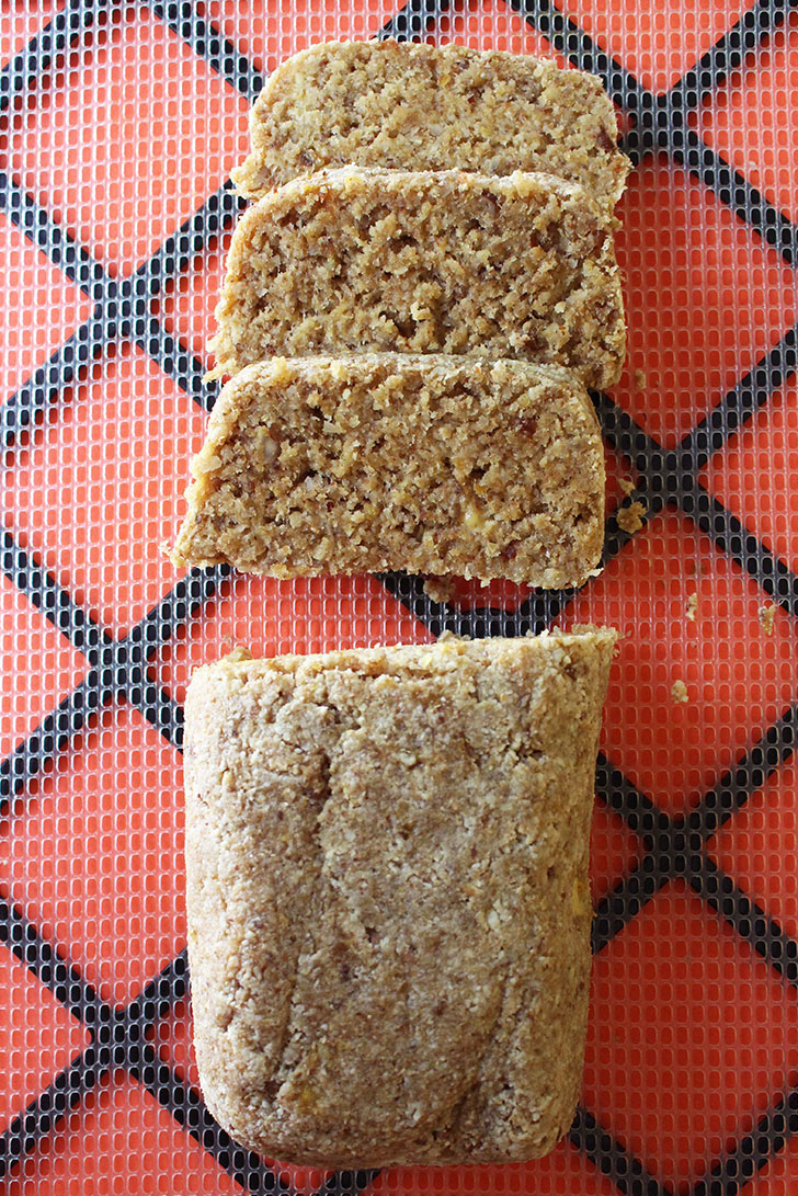Raw Vegan Banana Bread