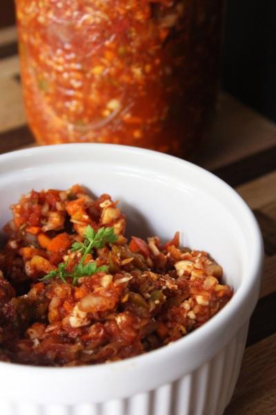 Raw Vegan Chili Ferment