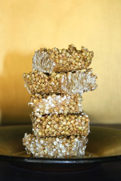 Raw Vegan Crispy Treats