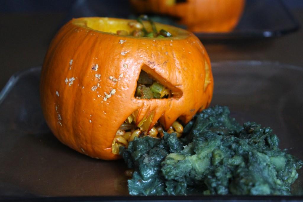 Vegan Halloween Dinner