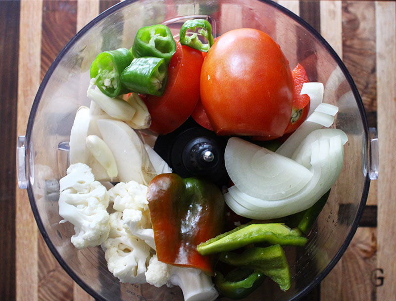 Fermented Vegetable Chili Ingredients