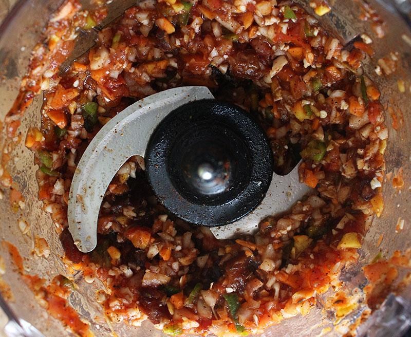 Fermenting Vegetable Chili
