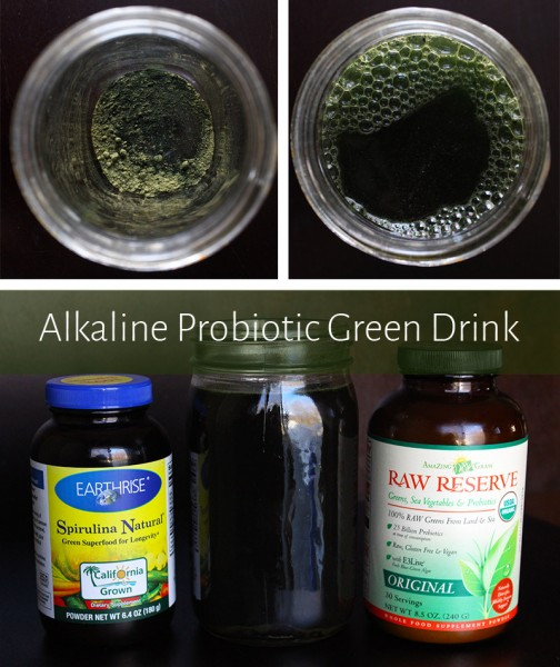 Simple Alkaline Probiotic Green Drink