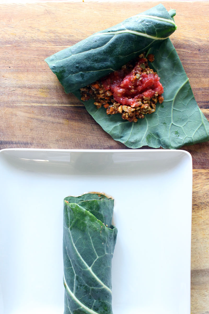 Raw Vegan Burritos