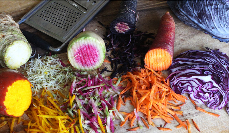 Shredded Veggie Salad