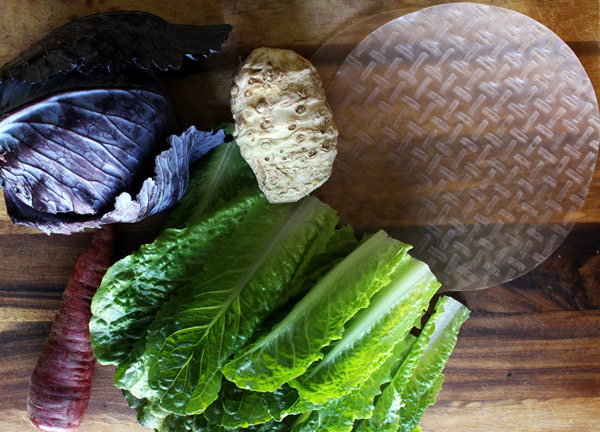 Fresh Spring Roll Ingredients