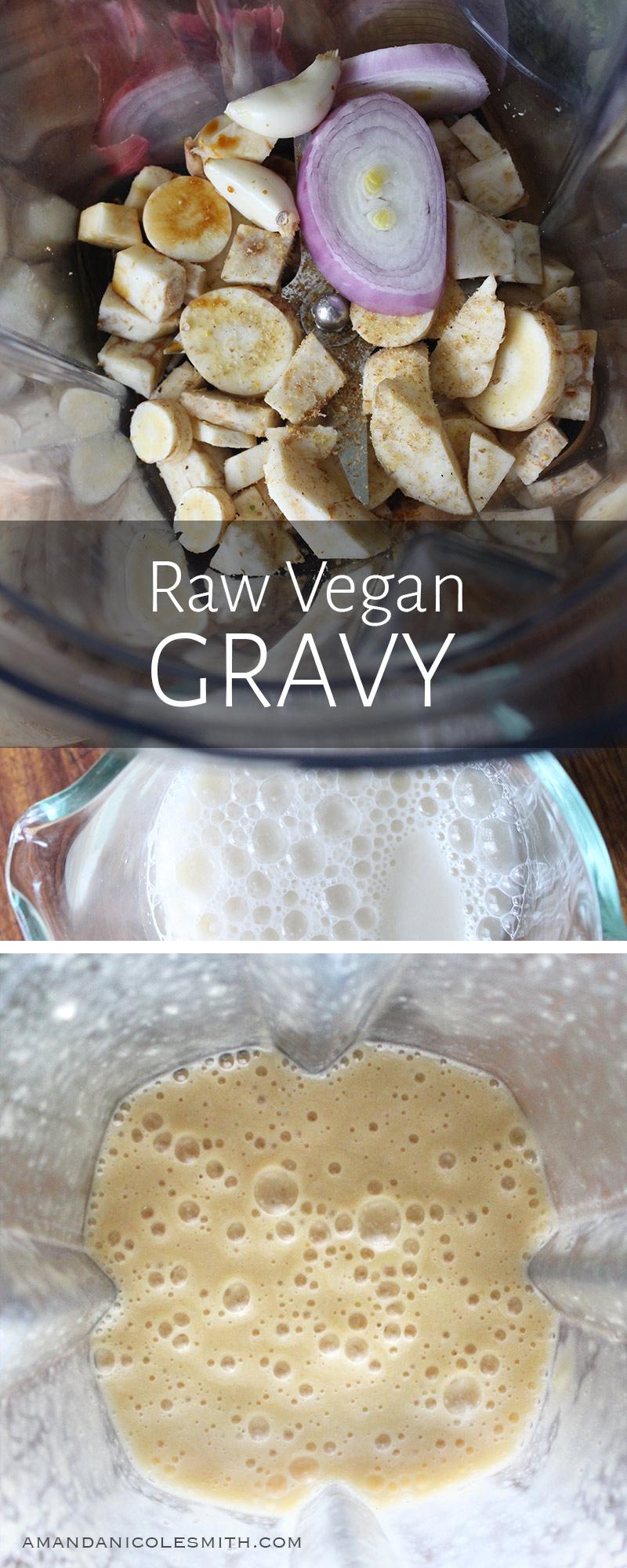 Raw Vegan Gravy