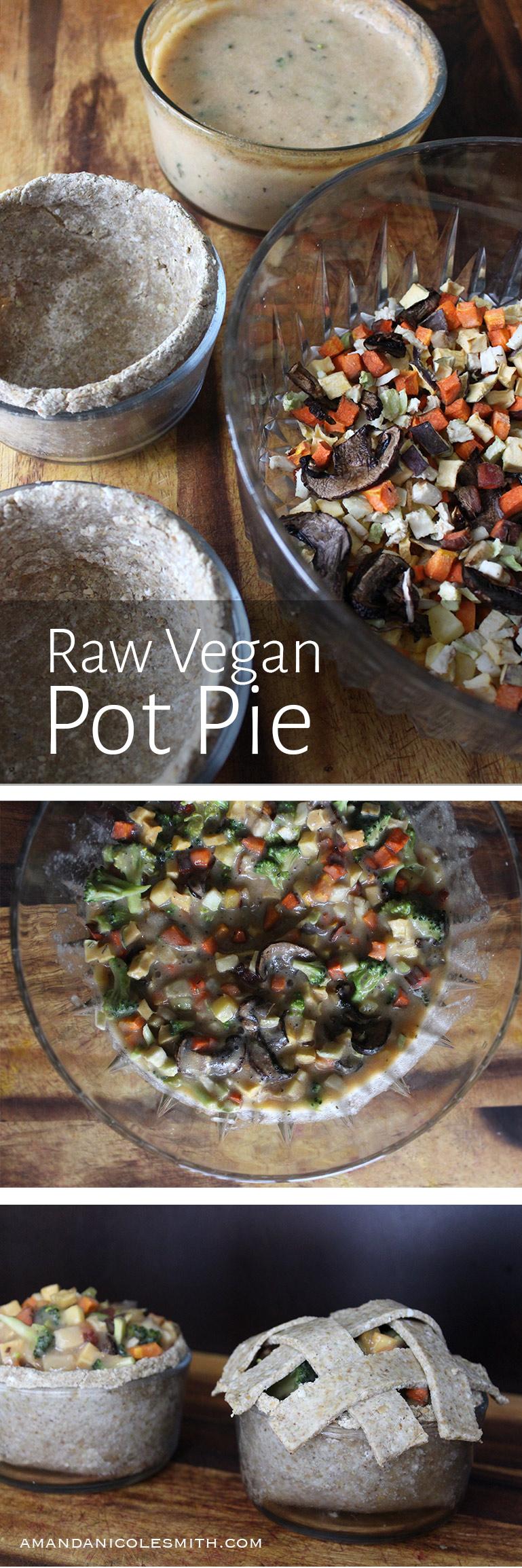 Raw Vegan Pot Pie