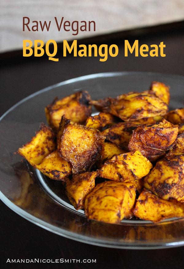 Raw Vegan Mango Meat
