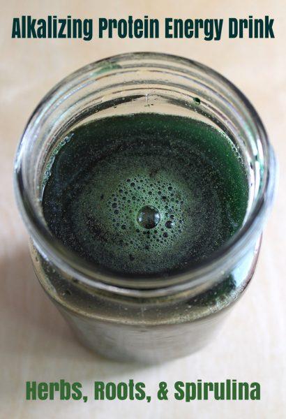 Alkalizing Protein Energy Drink