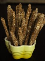 Raw Vegan Pretzel Sticks