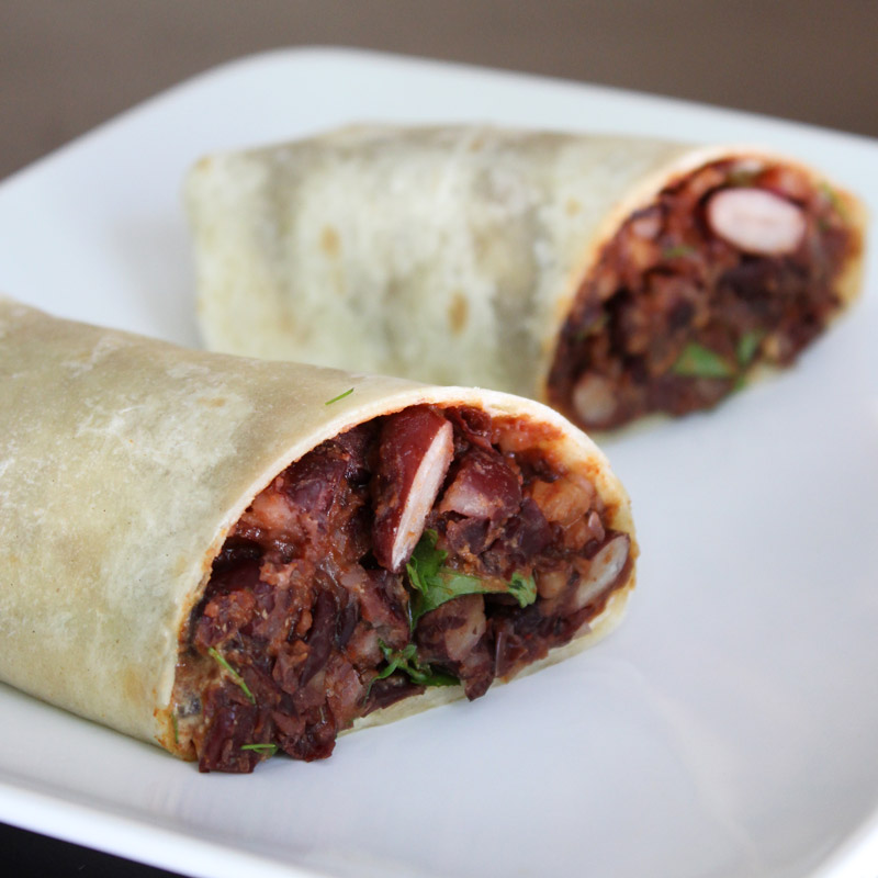 Vegan Chipotle Bean Burrito