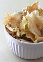 Sea Salt & Vinegar Kohlrabi Chips
