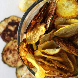 Zucchini Chips | Cheesy, BBQ, Salt & Vinegar