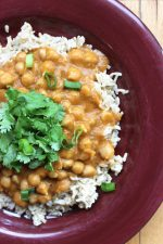 Sweet Potato Chana Masala | Vegan